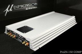 u-Dimension ProZ 4-150 - wzmacniacz samochodowy