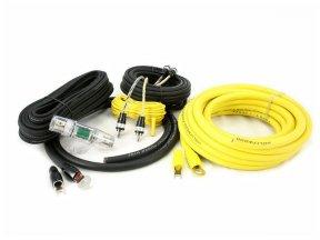 Hollywood PRO-24 - zestaw kabli OFC do wzmacniacza