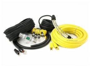 Hollywood PRO-44 - zestaw kabli OFC do wzmacniacza