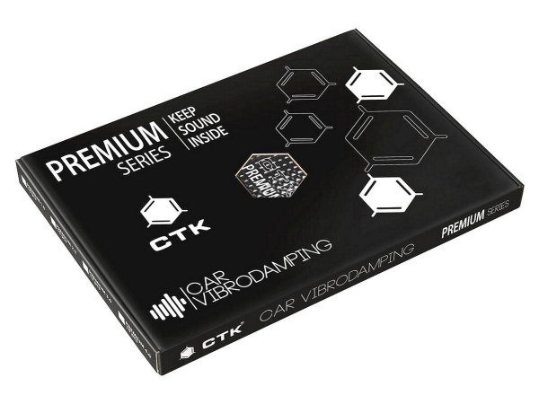 CTK Premium 3.0 Box - mata tłumiąca, 12szt./2,2m2
