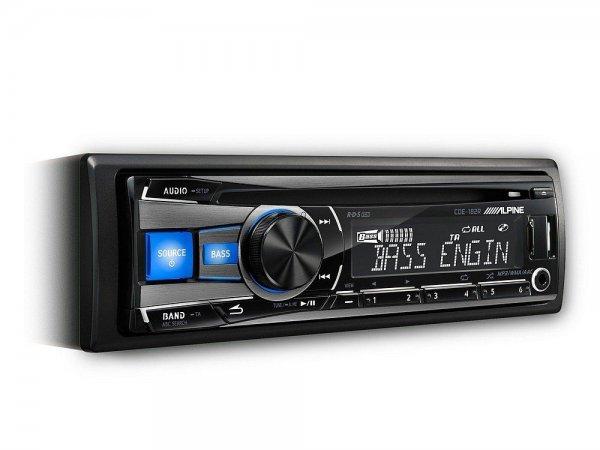 Alpine CDE-182R - radioodtwarzacz