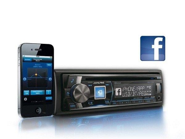 Alpine CDE-177BT - radioodtwarzacz
