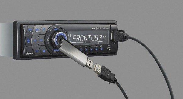 Clarion CZ-309E - radioodtwarzacz