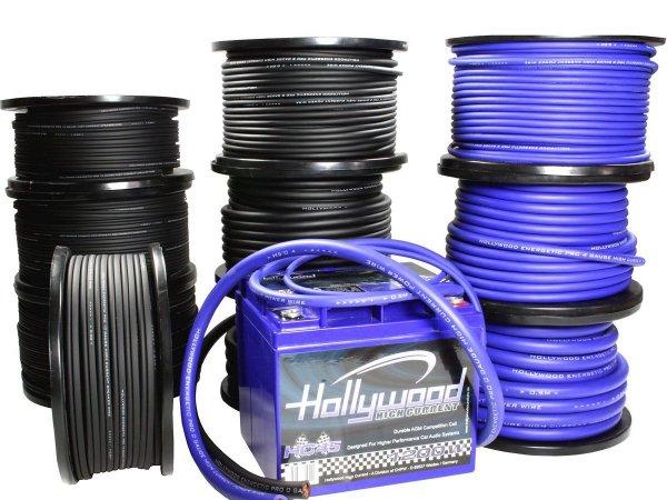Hollywood PRO PC-BL8 - kabel zasilający 8,5 mm2